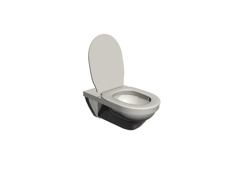 duravit toilet 3d model