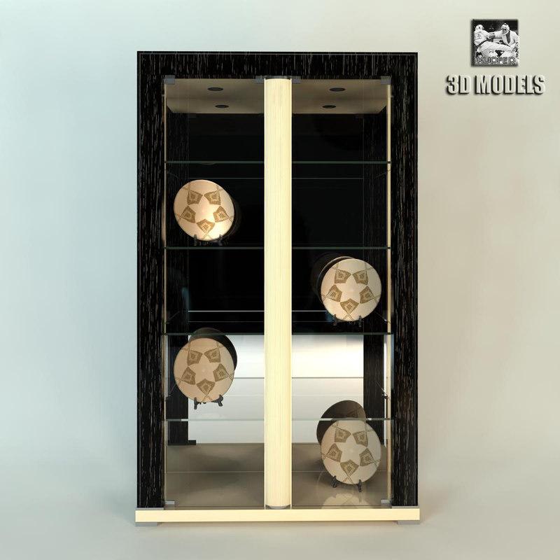 3d model of turri glass