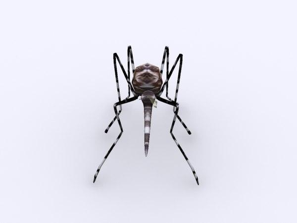 3ds max aedes mosquito dengue