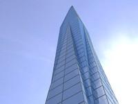 concept skyscraper obj