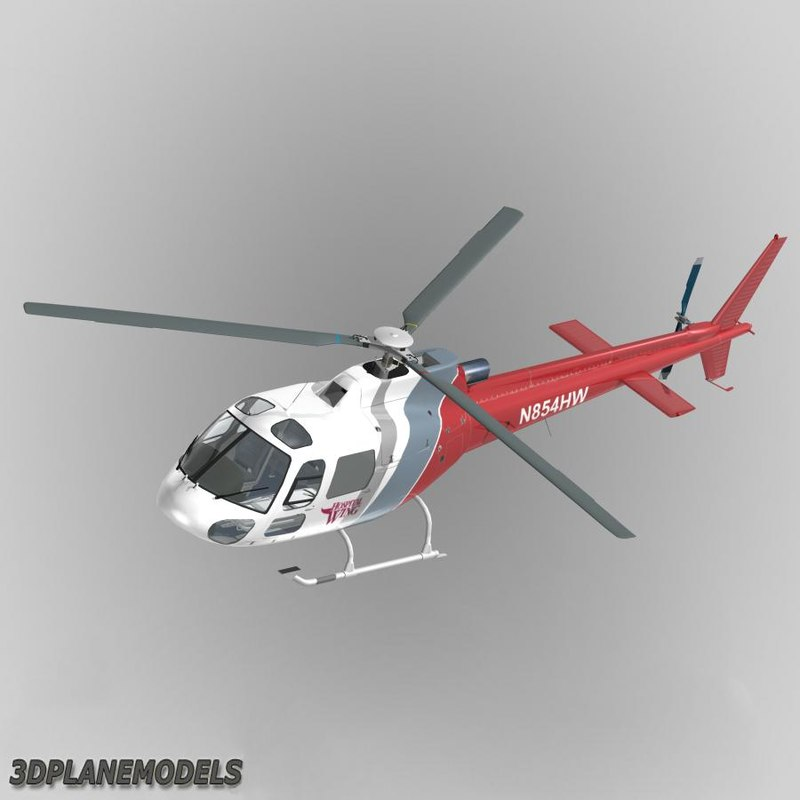 3ds eurocopter hospital wings 350