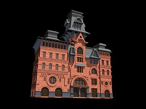3ds max parametric american brewery