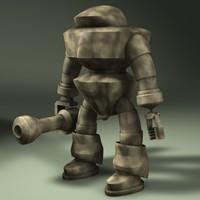 3d mech bot