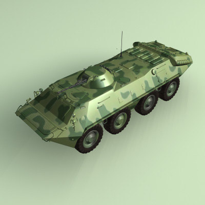 3ds max amphibious apc tanks