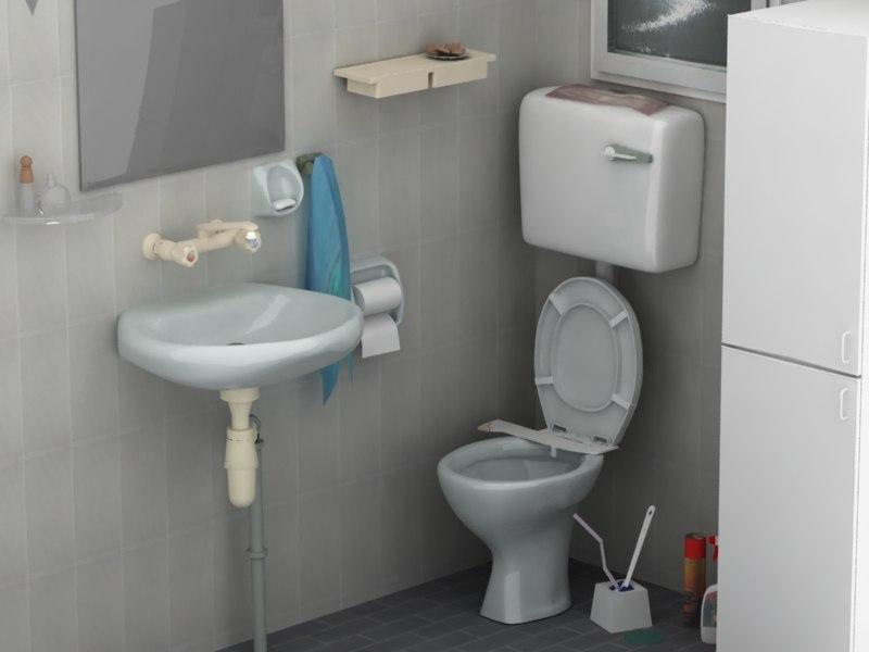 bathroom 3ds