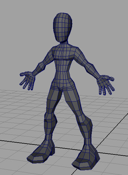 3d model base mesh characters