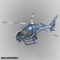 3d eurocopter ec-120b newport police