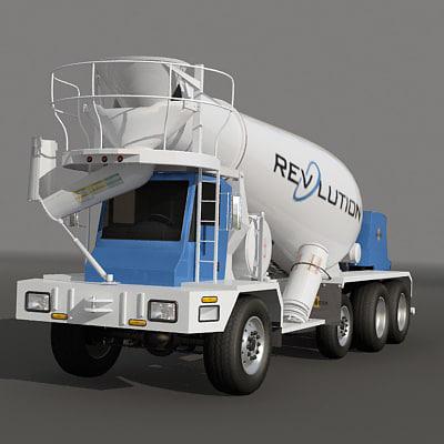 max discharge mixer truck