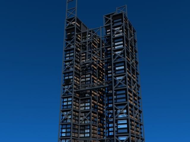 maya steel office building