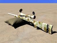 m24 desert 3d model