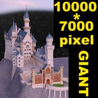 3d model neuschwanstein castle schloss