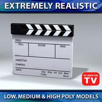 film marker slate max