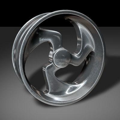 3d alloy wheel