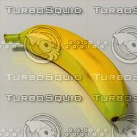 3d banana model