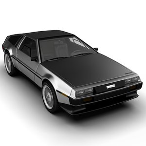 max delorean car