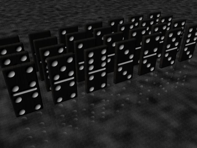 x dominoes