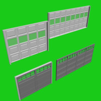3d animatable doors garages