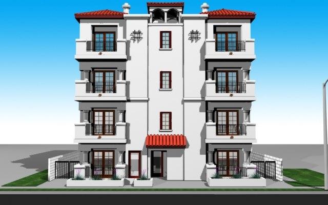 3d model 4 building
