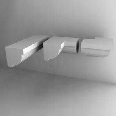 3d model moldings