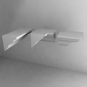 moldings 3d model