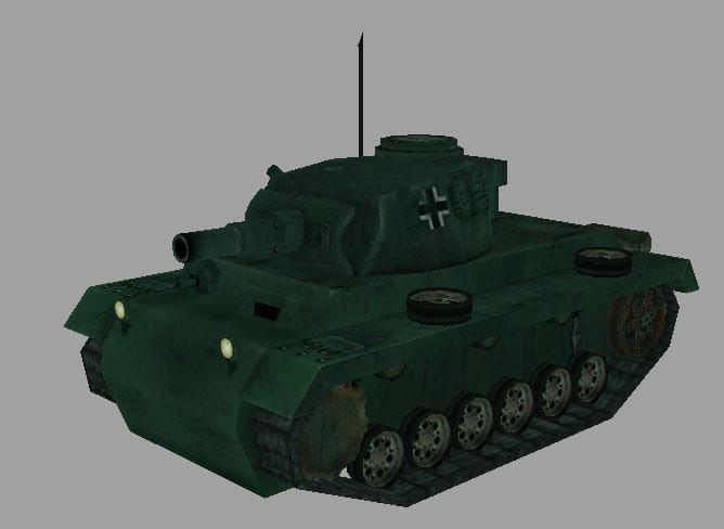 3ds max panzer tiii
