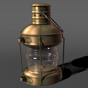 3d anchor lamp