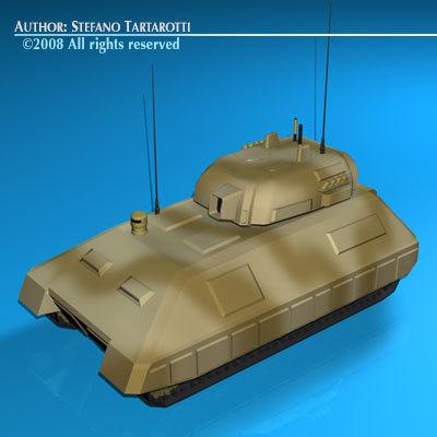 control tank war 3d model