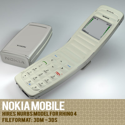 3d model of nokia phone