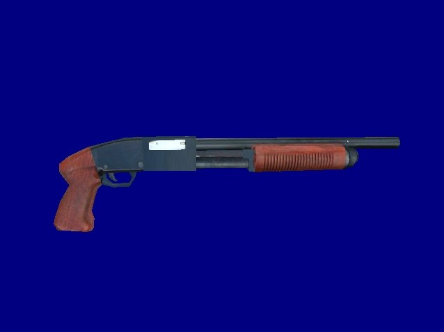 3dsmax shotgun pumpgun pump