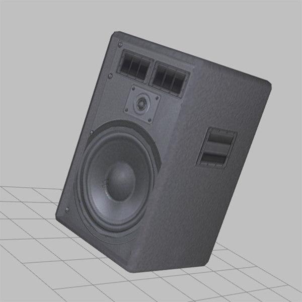 concert speaker 3d model