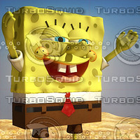 spongebob_squarepants_3d_3dMax.rar