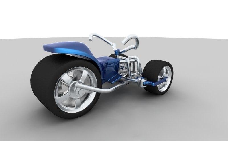 3d tricycle trike