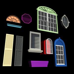custom window 3ds