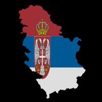 serbia 3d model