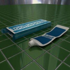 maya toothpaste toothbrush