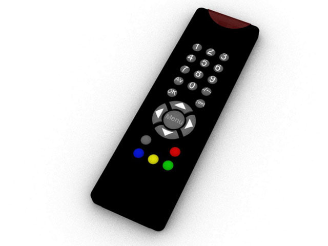tv remote 3dm