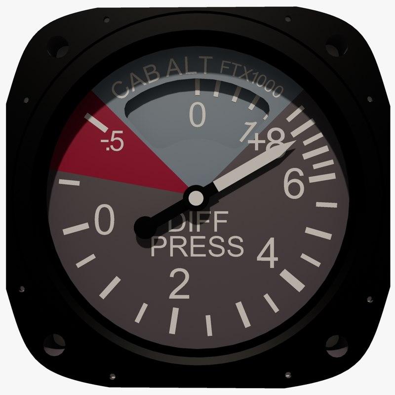 3d air craft cabin pressure