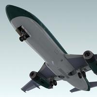 737 plane air 3d lwo