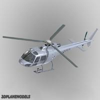 3d eurocopter australia navy 350 model