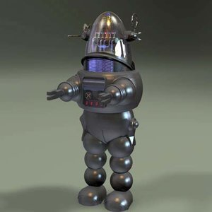 robie robot 3d model