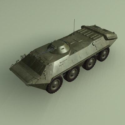 amphibious apc tanks 3d max