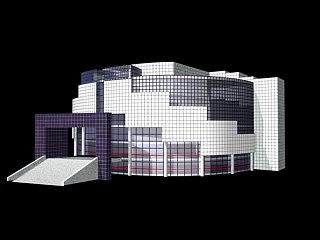 3d parametric bastille opera model