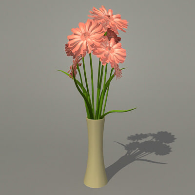 bouquet 3d 3ds