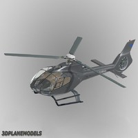 eurocopter ec-130 private livery 3d model