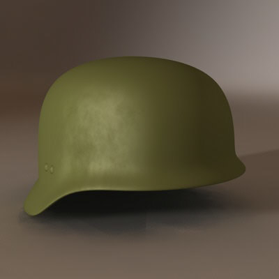 3d 3ds german helmet