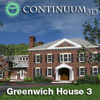 federal greenwich house - 3ds