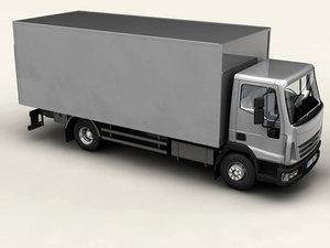 3d generic truck