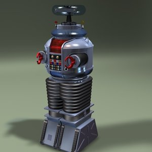 lost space robot 3d model
