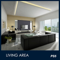 max modern living area