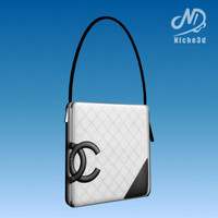 designer bag virtual world 3d 3ds